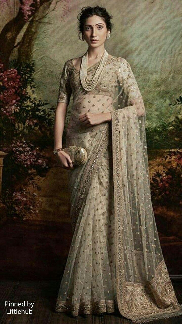 Pinterest: @Littlehub || Sabyasachi~❤。An Exquisite Clothing World || sabyasachi saree
