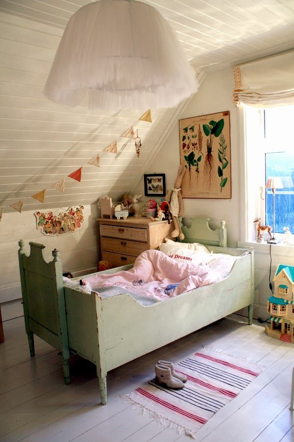 Nicely Decorated Kid's Room.