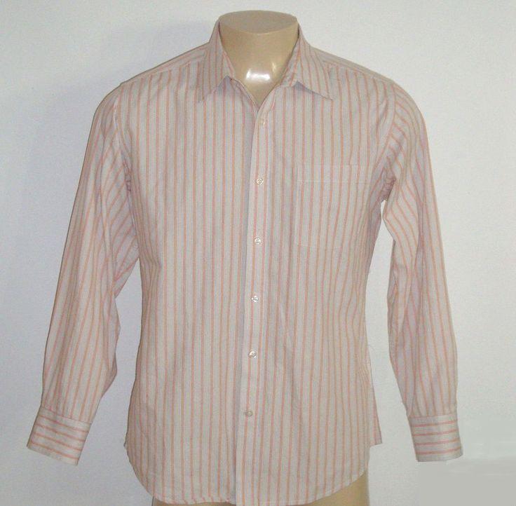 Excellent j ferrar button dress shirt 16 16 5 sz large for J ferrar military shirt