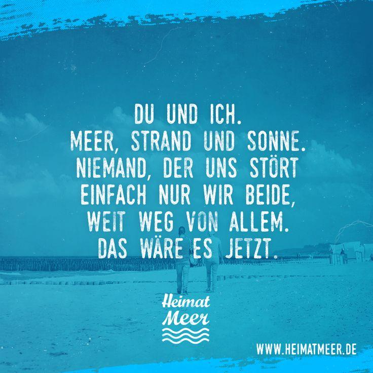 Meer, Strand und Sonne. Das wäre es jetzt. Mee(h)r hier >>