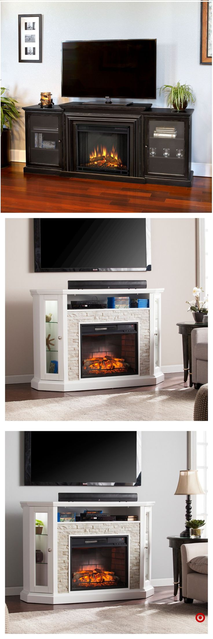 Shop Target for tv/media stand fireplace you will love at great low prices. Free shipping on all orders or free same-day pick-up in store.