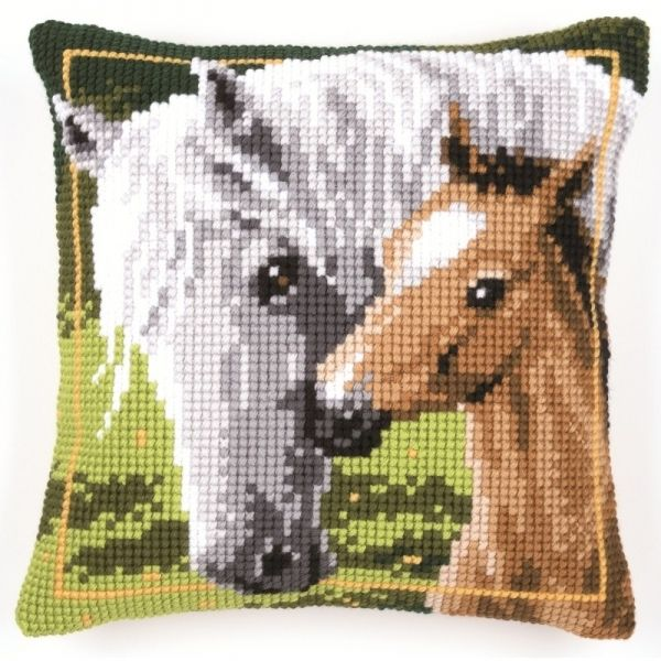 """Набор для вышивки """"Лошадь и жеребенок"""" арт. PN-0144348 Vervaco"""