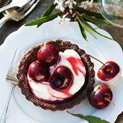 Choc-Cherry Tarts