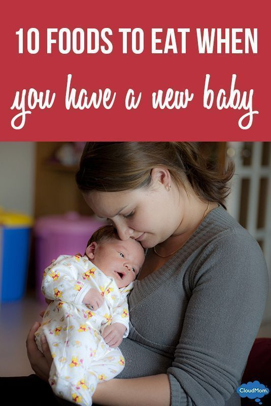 10 Foods to Eat When You Have a New Baby