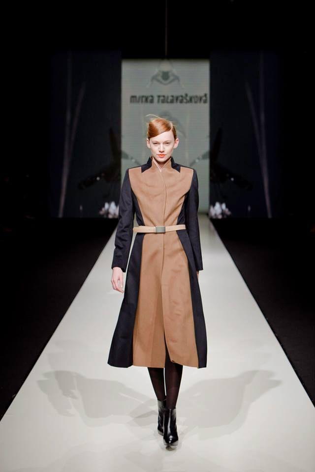 great winter coat by @MirkaTalavaskova