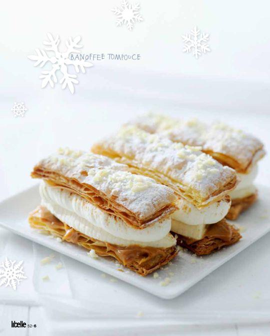 White Christmas | Yvette van Boven, BANOFFEE TOMPOUCES