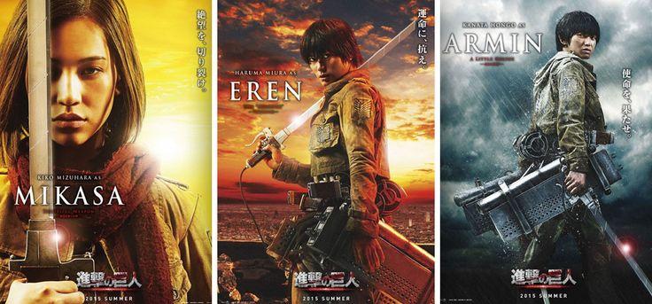 Attack on Titan kommt im Sommer 2015 als Live Action Film ins Kino | © Toho