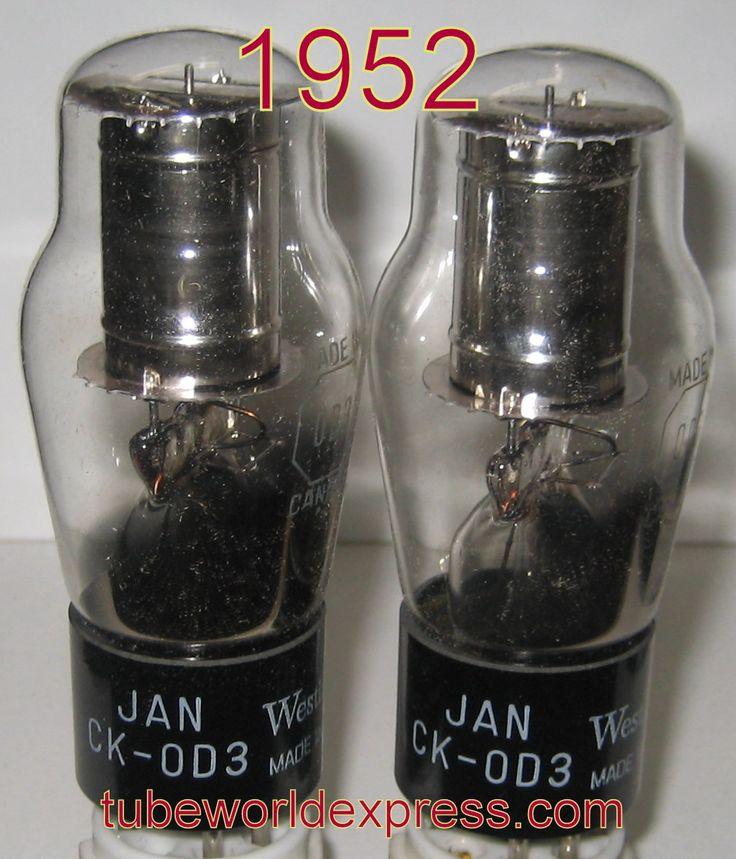 1 0D3 BEST PAIR) 0D3 Westinghouse Canada NOS 1952 (1