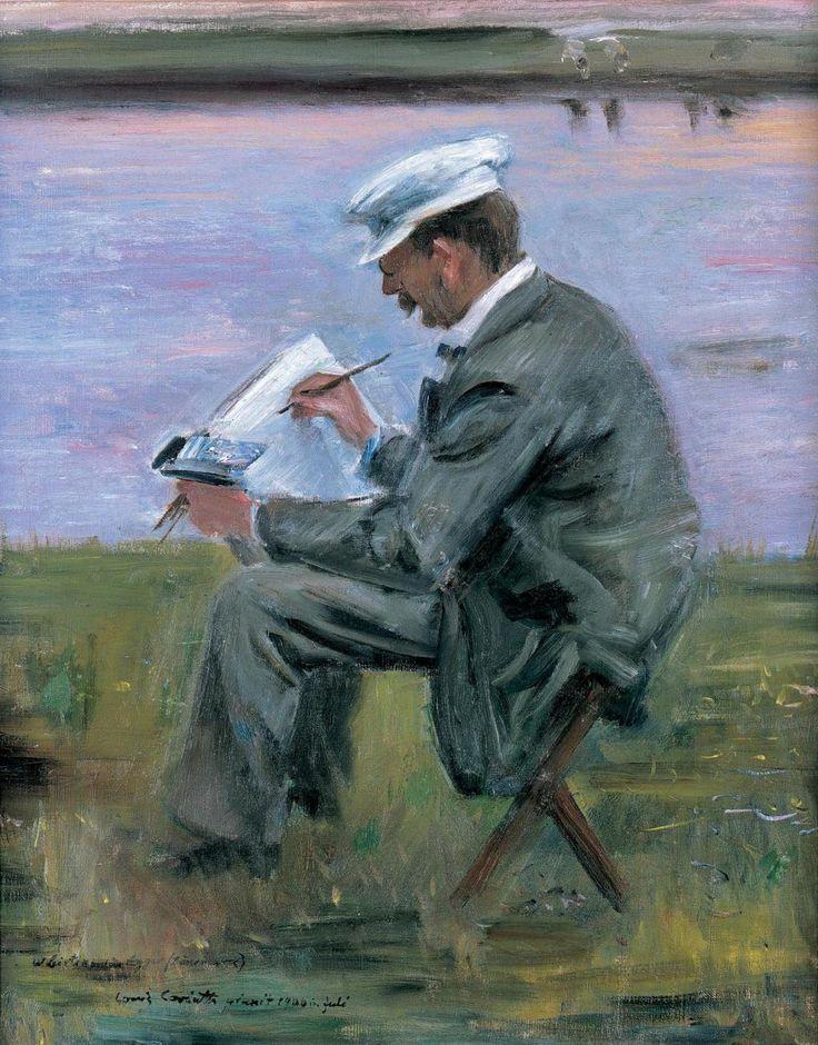 'Der Maler Leistikow' (The Painter Leistikow) by Lovis Corinth, 1900