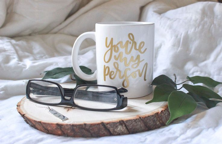 You're My Person | White Ceramic Mug | Best friend| Love | Romance | Marriage | Anniversary | Gift | Greys Anatomy by KClettering on Etsy https://www.etsy.com/listing/476832314/youre-my-person-white-ceramic-mug-best