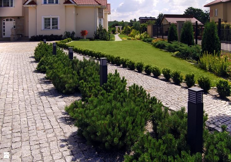 Frontowa część ogrodu - zdjęcie od Architektura Krajobrazu Piotr Dubec - Ogród - Styl Eklektyczny - Architektura Krajobrazu Piotr Dubec