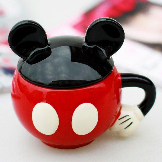 Caneca Mickey - Amarello Art