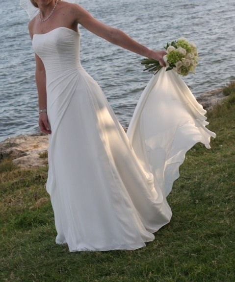 Gorgeous Maggie Sottero Wedding Dress Sz 4