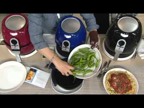 Cook's Essentials 3 qt. 1400 Watt Air Fryer with Recipe Book on QVC - YouTube                                                                                                                                                     More