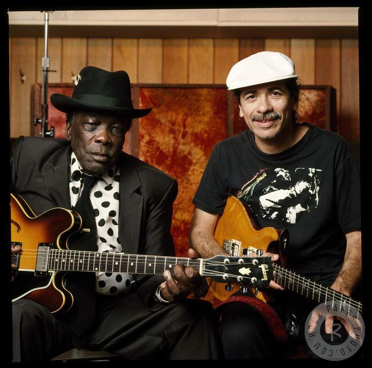 John Lee Hooker & Carlos Santana