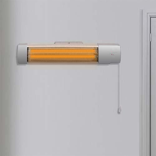 Waco Infrared Wall Mount Heater with Pull String. #WACO #wacoelectrical #heaters