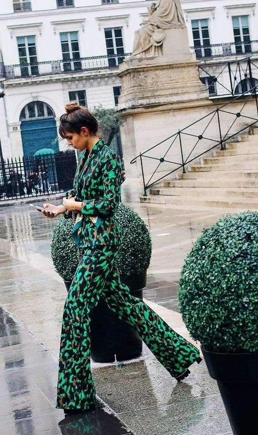 See more street style photos from the Paris haute couture shows.