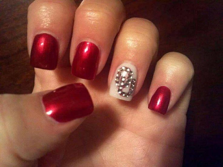 OU nails! For football season