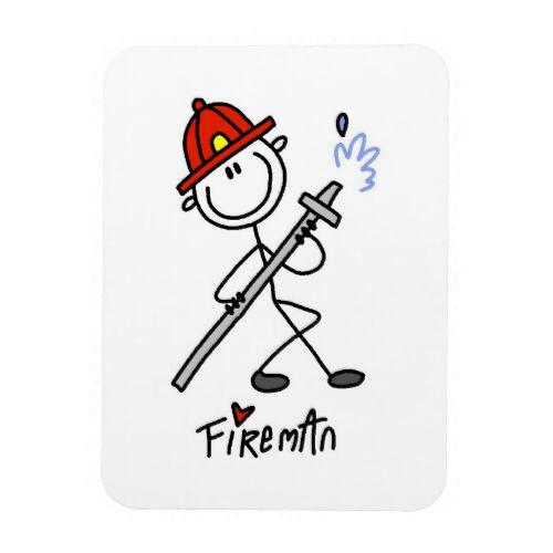 basic stick figure fireman t