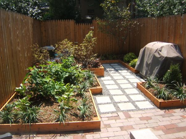 small urban backyard total renovation house projects