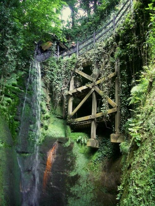 Shanklin Chine, Isle of Wight, England