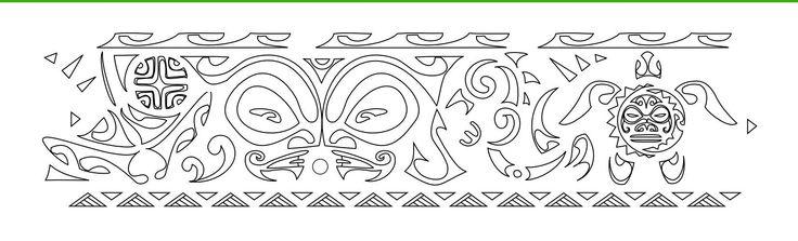 Neat Polynesian design.