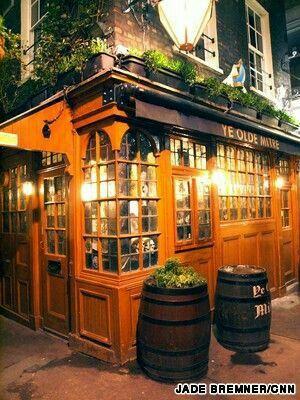 El Pub mas antiguo de Londres.