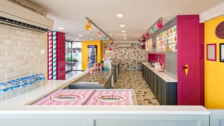 Dondurma Dükkanı Ice-cream Shop by Kst Architecture & Interiors, Antalya –…