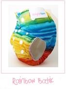 Rainbow Batik SNAPS - Designer Bums