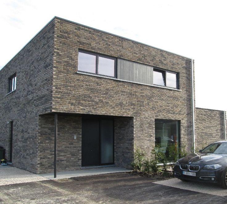 10 geboden voor een bio ecologische woning nieuwbouw modern plat dak foto - Foto gevel moderne villa ...