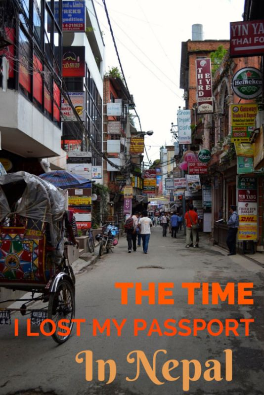 The Time I Lost My Passport in Nepal - Adventures Around Asia