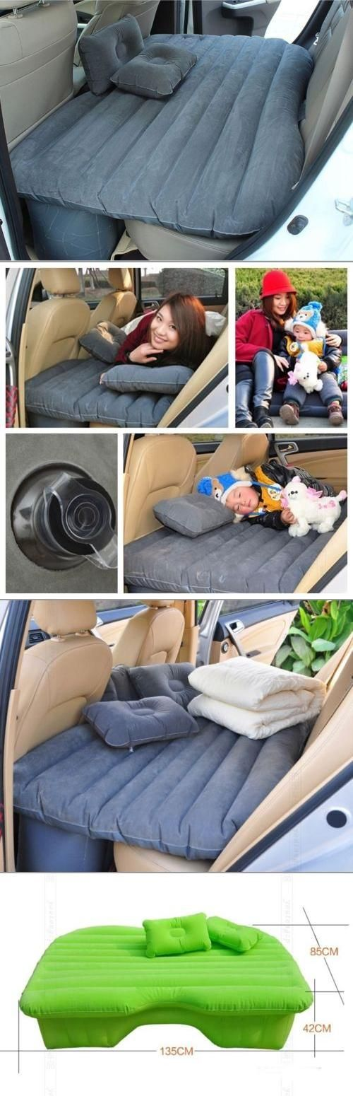 Awesome Cars accessories 2017: Inflatable car travel mattress  Travel