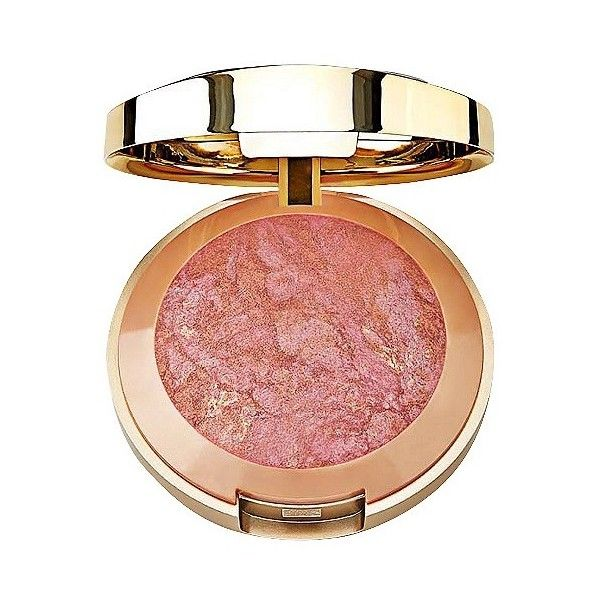 Milani Baked Blush Berry Amore . oz ($7.49) ❤ liked on Polyvore featuring beauty products, makeup, cheek makeup, blush, berry amore and milani blush