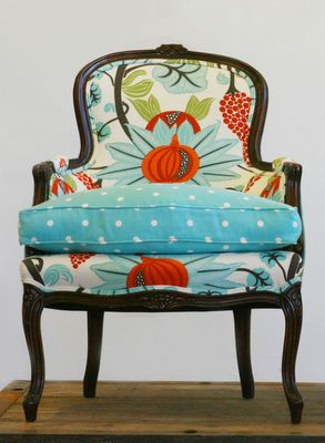 WildChairy.com  great fabrics on these chairs there should not be a chair thrown away....redo them!