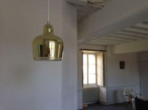 Golden bell pendant (Artek)