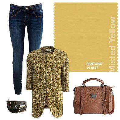 Il Misted Yellow è uno dei colori must della stagione Fall'14. Segui il trend, copia il look!