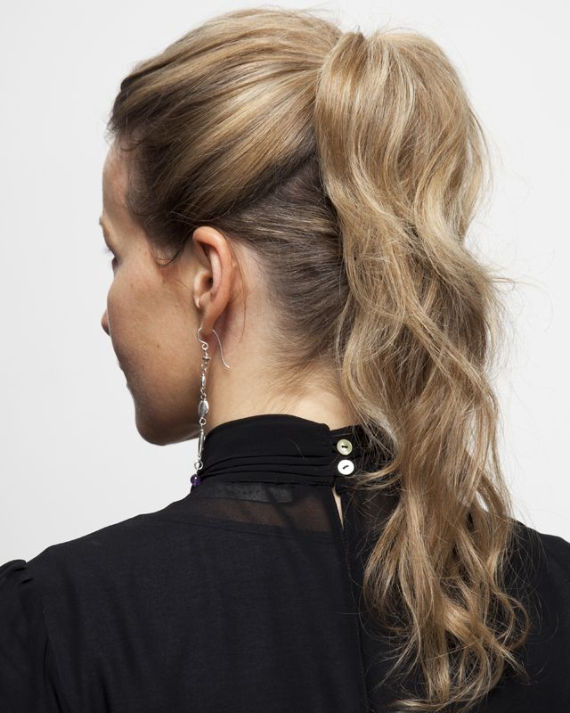 Hair how-to: the double pony - It's a ponytail, but not as you know it, says Ingeborg van Lotringen