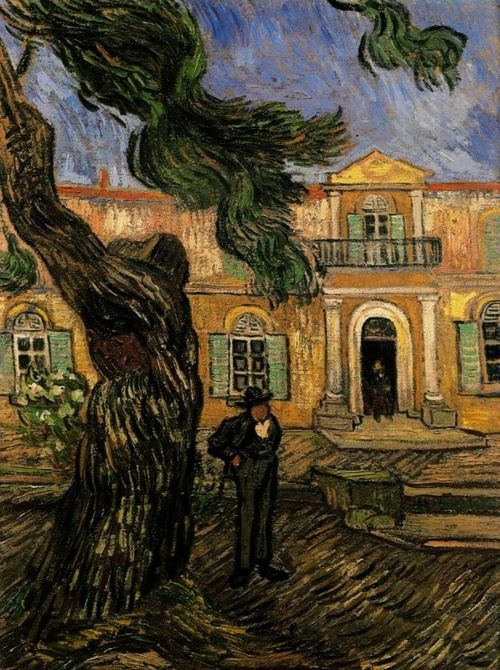 Vincent van Gogh, Tree and Man (1889). Musée d'Orsay, Paris.