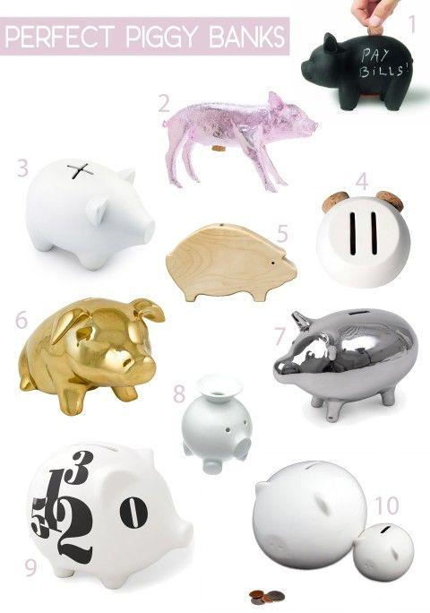 10 modern piggy banks