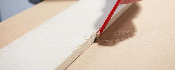 Fabriquer un guide de coupe pour sa scie circulaire - Réaliser des coupes droites
