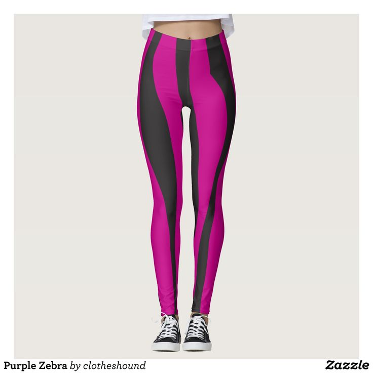 Purple Zebra Leggings : Beautiful #Yoga Pants - #Exercise Leggings and #Running Tights - Health and Training Inspiration - Clothing for #Fitspiration and #Fitspo - #Fitness and #Gym #Inspo - #Motivational #Workout Clothes - Style AND #comfort can both be possible in one perfect pair of custom #leggings. #Purple Zebra Leggings was crafted made with care each pair of leggings is printed before being sewn allowing for #fun and #creative designs on every square inch - Medium weight #fabric is…