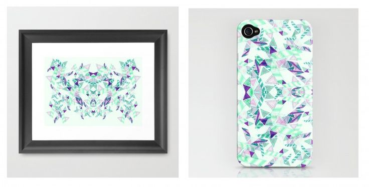 society6 2 750x381 Illustrated prints by vasare nar