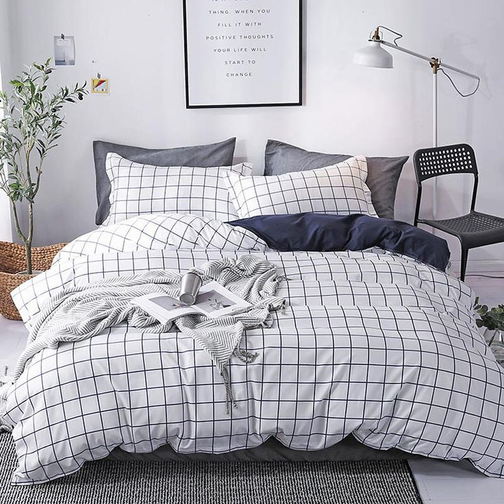 Duvet Cover Sets Luxury Stripes Ripples Contemporary