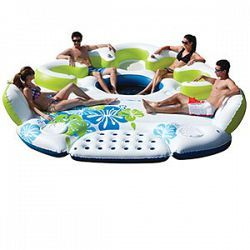 25 best ideas about inflatable island on pinterest floating raft water floaties and lake floats for Hood river swimming pool hours