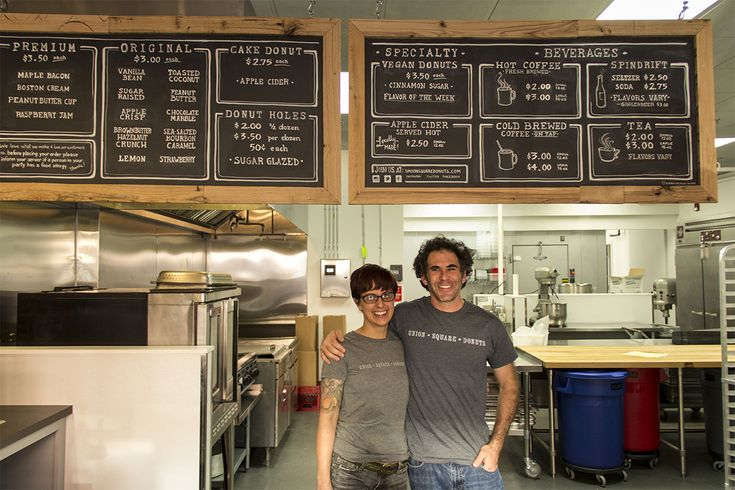 Union Square Donuts owner Josh Danoff gave us look inside his new location and menu.