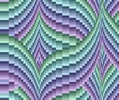 bargello quilt - Google Search