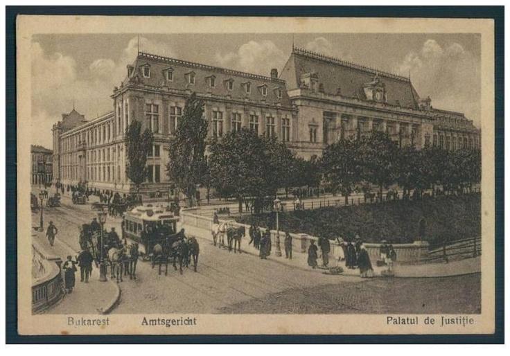 Bucuresti - Tribunalul - interbelica