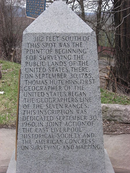 Beginning Point of the U.S. Public Land Survey