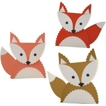 And more. Fox Place Card Kit - make charming place cards, gift tags or table decor. Haha! @Rachel Hester