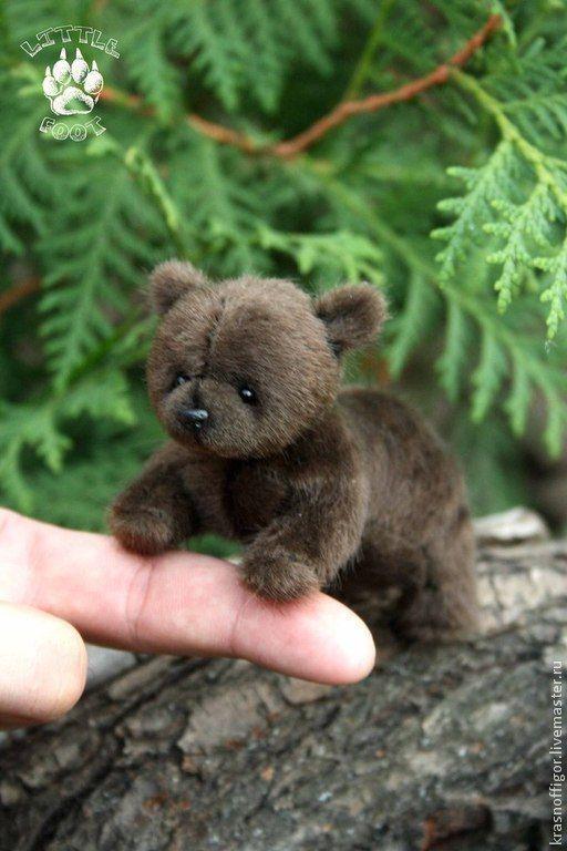 Cute Teddy Bear | Руфус - коричневый,мишка,мишка тедди,тедди,натюр,искусственный мех,синтепон